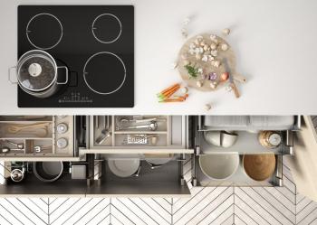 Compartimentarea sertarelor - Sfaturi pentru o mai buna organizare a bucătăriei